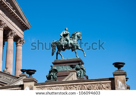 Alte Nationalgalerie (Old National Gallery) Berlin, Germany - stock photo