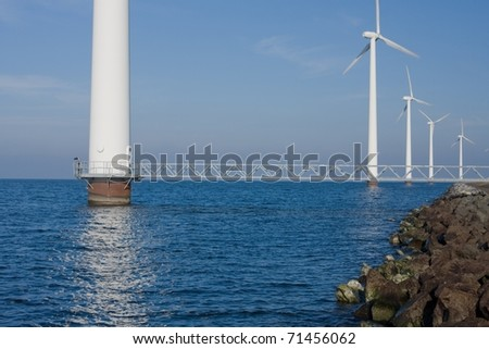 Alternative energy - stock photo