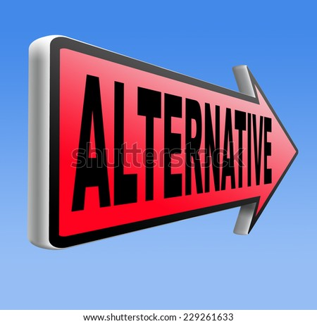 alternatives in choices, choose different option underground music or movement  - stock photo