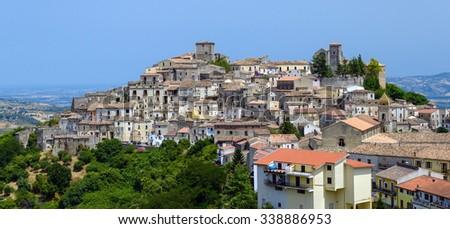 Altomonte, Cosenza, Calabria, Italy. - stock photo