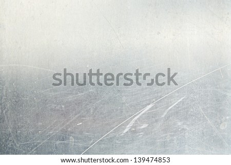 Aluminum grunge background. Sheet metal - stock photo