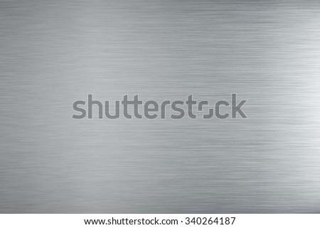 Aluminum texture background - stock photo