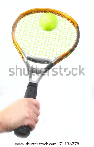 Always to look at a ball. - stock photo
