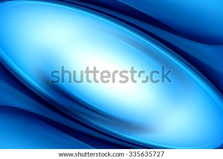 Amazing Abstract Blue Wave Design - stock photo