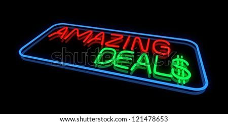 Amazing Deals - stock photo