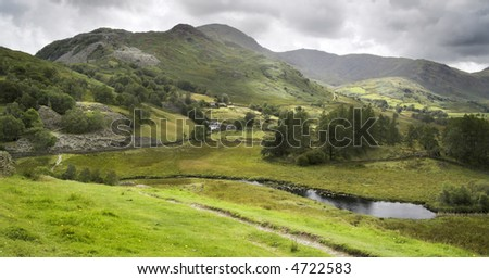 Ambleside, Lake District UK - stock photo
