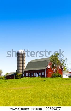 American Farm - stock photo