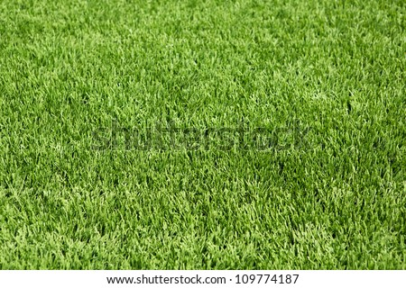 American Football Field Astro Turf for sports background - stock photo