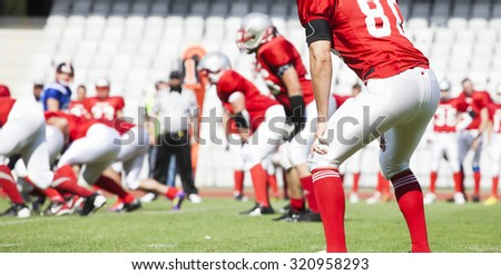 American football game  - stock photo