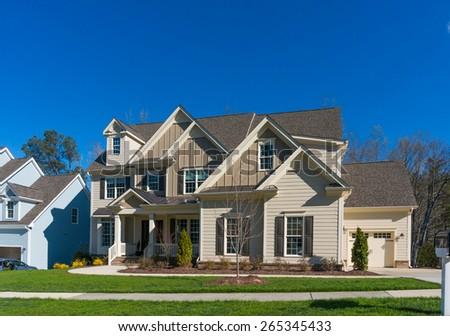 American House - stock photo