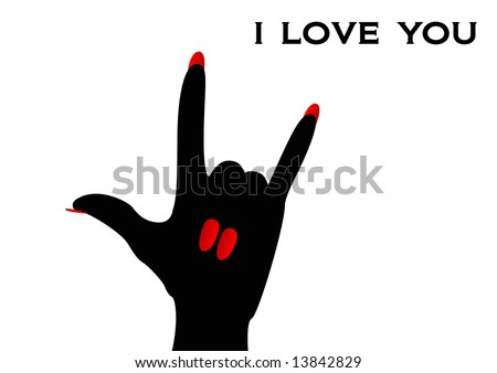 American Sign Language i Love You American Sign Language Sign i