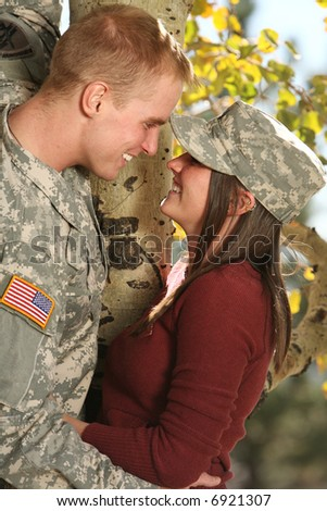 American Soldier - stock photo