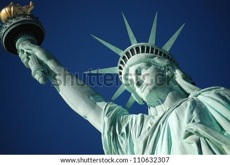 American Symbol - Statue of Liberty - stock photo