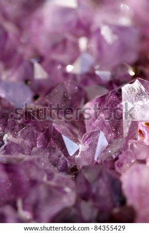 Amethyst - stock photo