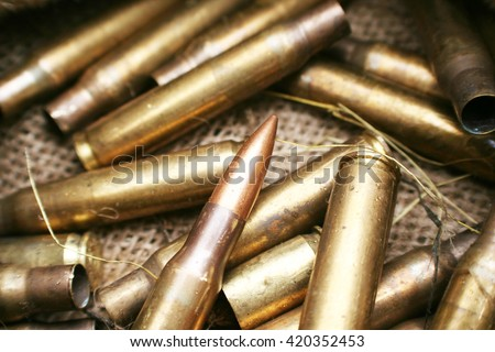 Ammo Stock Photo High Quality - stock photo