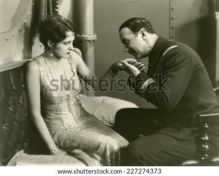 Amorous intentions - stock photo