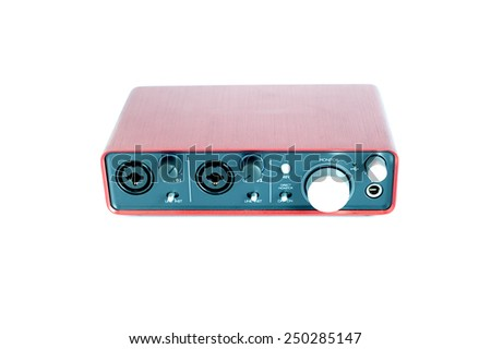 Amplifier - stock photo
