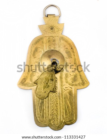 Amulet from Middle East and North Africa - stock photo