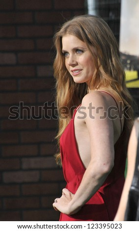 """Amy Adams at the premiere of her movie """"Trouble With The Curve"""" at the Mann Village Theatre, Westwood. September 19, 2012  Los Angeles, CA Picture: Paul Smith - stock photo"""