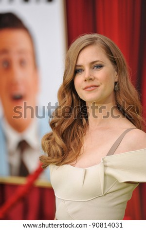 """Amy Adams at the world premiere of her new movie """"The Muppets"""" at the El Capitan Theatre, Hollywood. November 12, 2011  Los Angeles, CA Picture: Paul Smith / Featureflash - stock photo"""