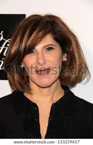 Amy Pascal at the L.A. Gay And Lesbian Center Hosts 'An Evening' honoring Amy Pascal and Ralph Ricci, Beverly Wilshire, Beverly Hills, CA 03-21-13 - stock photo