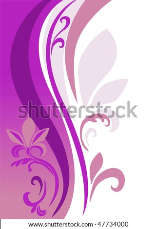 an abstract background is in pink-violet tones - stock photo