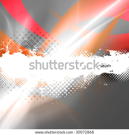 An abstract background layout with halftone dots and lots of copy space. - stock photo