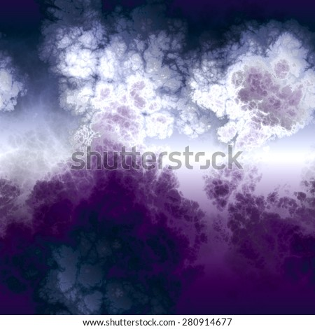 An abstract background with purple smoke. - stock photo