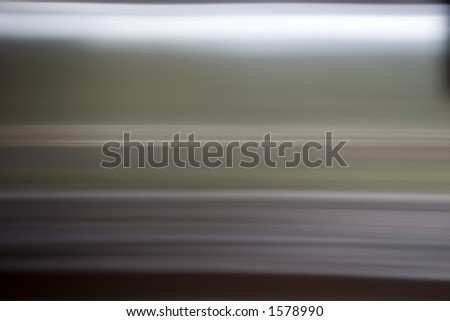 an abstract of brushed stainless steel - stock photo