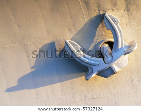 An anchor - stock photo