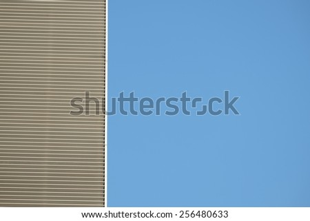 an aspect of high building - stock photo