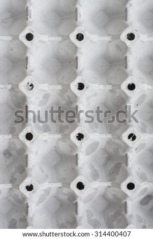 an egg carton vertical background - stock photo