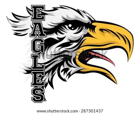 Eagle Sports Team Mascot