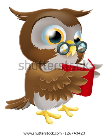Owl With Book Stock Photos Images Amp Pictures