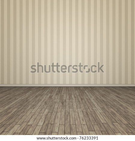 An image of a beautiful old floor - stock photo