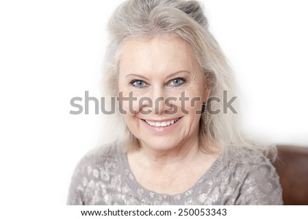 An image of a best age woman - stock photo
