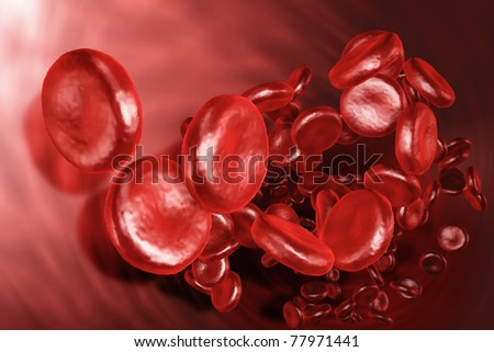 An image of a blood plasma background - stock photo