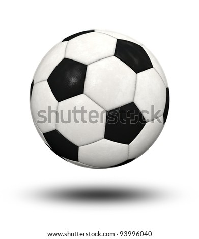 An image of a nice soccer ball - stock photo
