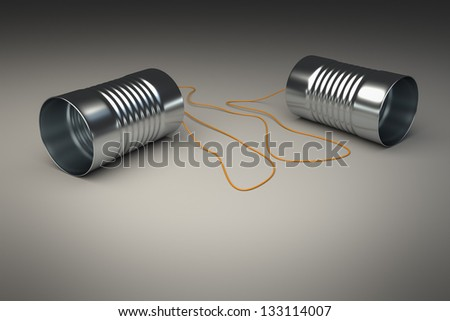 An image of a sweet cans phone - stock photo