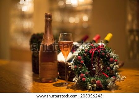 An Image of Champagne - stock photo