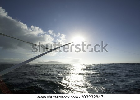 An Image of Fishing Boat - stock photo