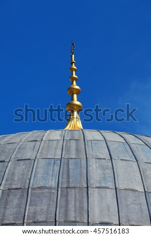 an image of mosque - stock photo