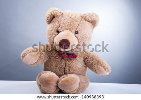 An image of teddy bear - stock photo