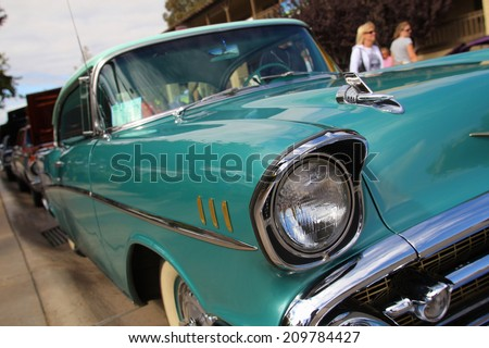 An Image of vintage car - stock photo