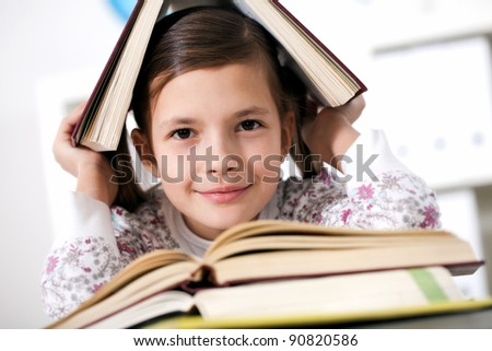 an interesting homework assignment for Literature - stock photo