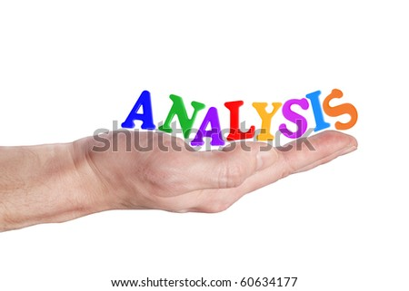 analysis 3 - stock photo