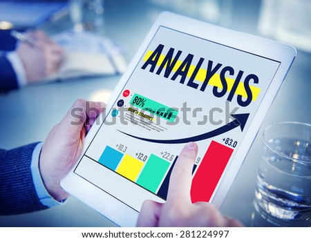Analysis Think Critically Systemize Thought Data Graph Concept  - stock photo