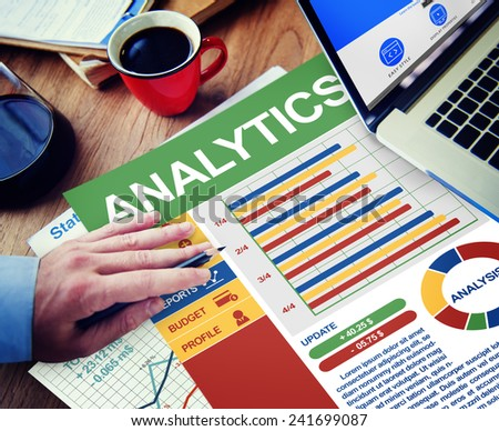 Analytics Businessman Working Calculating Balance Thinking Planning Paperwork Concept - stock photo