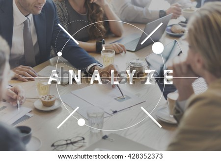Analyze Insight Information Understand Concept - stock photo