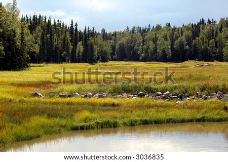 Anchorage, Alaska - stock photo